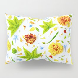 Leaves and flowers (11) Pillow Sham