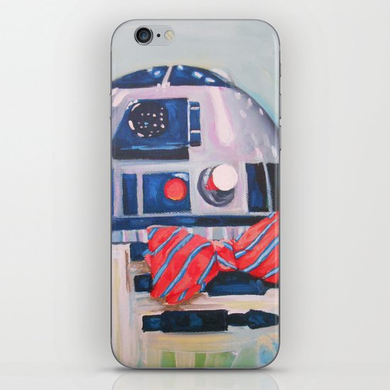 Bow2-Tie2 iPhone Skin
