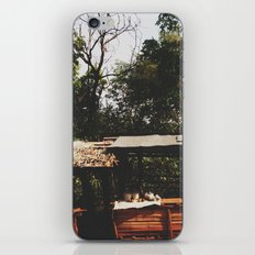 Tribal Villager's Stall iPhone Skin