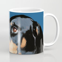 Doberman pop art  Coffee Mug