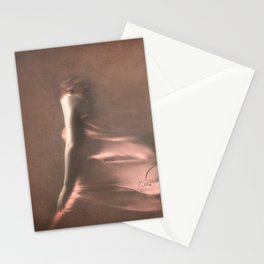 SEPIA DANCING Stationery Cards