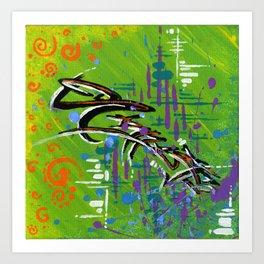 """NAMASTE"" Art Print"