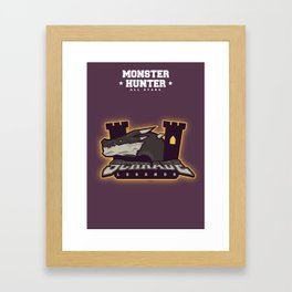 Monster Hunter All Stars - Schrade Legends Framed Art Print