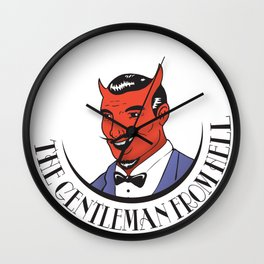SATAN Wall Clock
