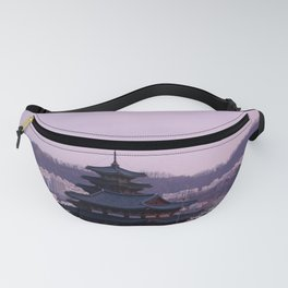 Pink Sky in Seoul Fanny Pack