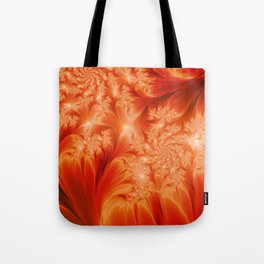 Fractal The Heat of the Sun Tote Bag