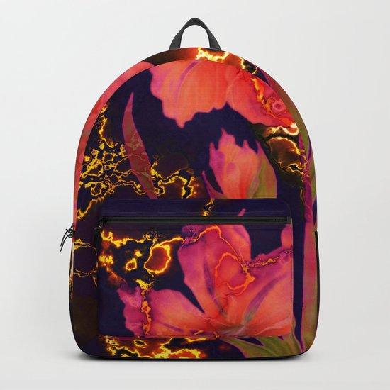luminous amaryllis Backpack