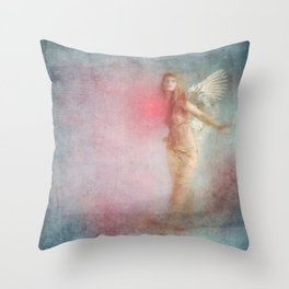 WHERE THE HEART GOES ... Throw Pillow