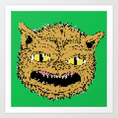 cat ghouie Art Print