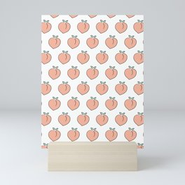 Cute Peaches Mini Art Print