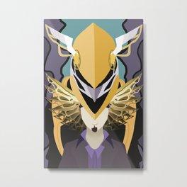 Golden Power Metal Print