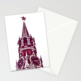 Kremlin Chimes-red Stationery Cards