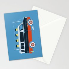 The Titanic Van Sinks Stationery Cards