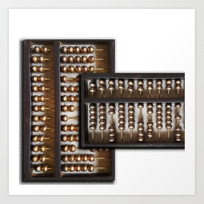 ABACUS Art Print by thetiffingallery | Society6