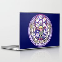 the legend of zelda Laptop & iPad Skins featuring The Legend Of Zelda by NicoleGrahamART