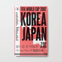 World Cup: Korea/Japan 2002 Metal Print
