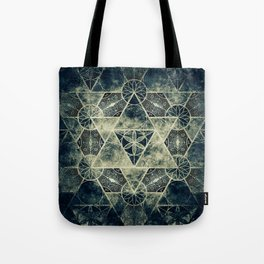 Sacred Geometry for your daily life -  Platonic Solids - IGNIS Tote Bag