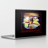 christ Laptop & iPad Skins featuring THE CHRIST by KEVIN CURTIS BARR'S ART OF FAMOUS FACES
