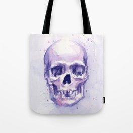 Skull Watercolor Skulls Tote Bag