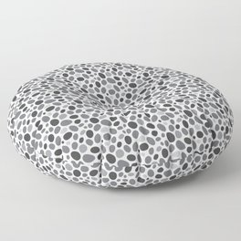 A Pebble Path Pattern Floor Pillow