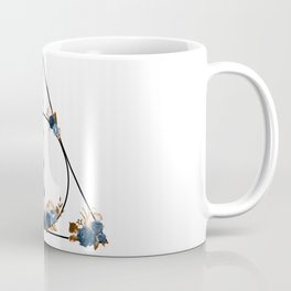 Deathly Hallows in Blue and Brown Coffee Mug