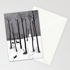 Mister Yeti's Great Escape Stationery Cards