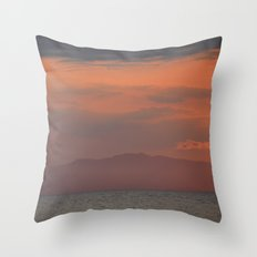 You cannot erase yesterday, but you can choose how  you paint your tomorrow. Throw Pillow