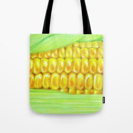 Color pencil Corn Tote Bag