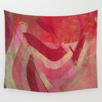 returns Wall Tapestries featuring Néftis by Fernando Vieira