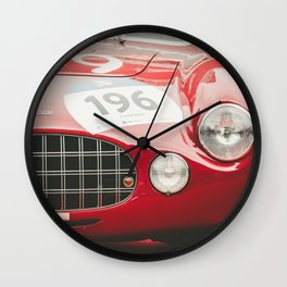 Beauties on Mille Miglia Wall Clock