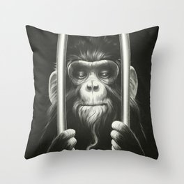 Prisoner II Throw Pillow