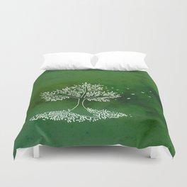 Wind Green  Duvet Cover