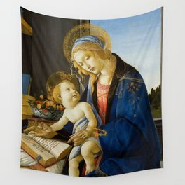Sandro Botticelli - The Virgin and Child, 1480 Wall Tapestry