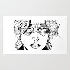 STATURE (CASSANDRA LANG) - AVENGER  Art Print