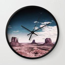 Monument Valley // Utah Wall Clock