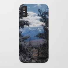 The Mountains through the Trees Slim Case iPhone X
