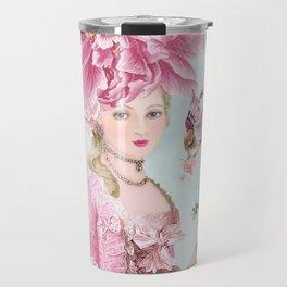 Marie Antoinette Wallflower Travel Mug