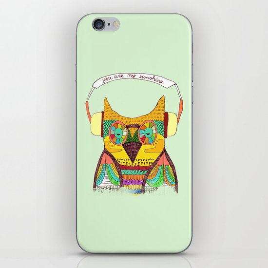The Owl rustic song iPhone & iPod Skin