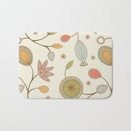 Mehndi Flower Bath Mat