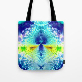 Fractal Event Horizon Tote Bag