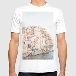 Positano, Italy Amalfi Coast Romantic Photography T-shirt