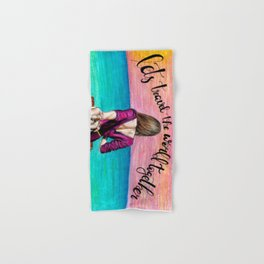 Lets Travel the World Together Hand & Bath Towel