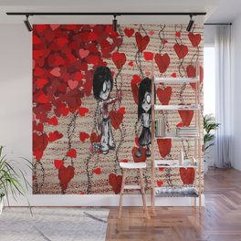 Take This Half Valentine Wall Mural