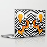 bacon Laptop & iPad Skins featuring Bacon & Eggs by Tyler Spangler
