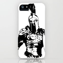 Battleborn, Spartan Warrior iPhone Case