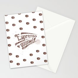 Espresso Yourself Stationery Cards