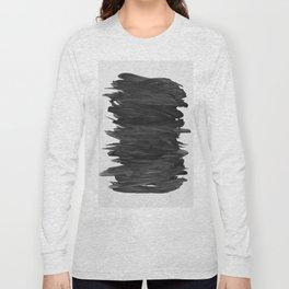 Abstract Minimalism #2 #minimal #ink #decor #art #society6 Long Sleeve T-shirt