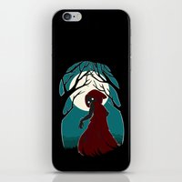 red riding hood iPhone & iPod Skins featuring Red Riding Hood 2 by Freeminds