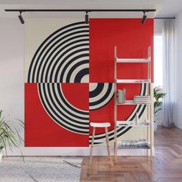 Target Heart Wall Mural