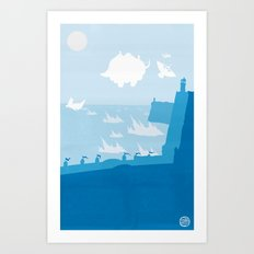 Avatar - Water Book Art Print